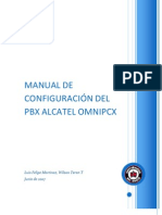 Manual de Configuracion Del Pbx Alcatel Omnipcx