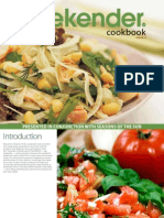 Weekender Recipe Book Volume Four