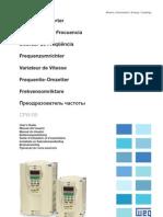 WEG Cfw 09 Manual Do Usuario 0899.5298 4.0x Manual Portugues Br