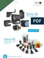 General_Electric_-_Folheto_Serie_CB_Contactores_e_Serie_PB_Unidades_de_Comando