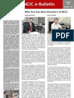 MCIC e-Bulletin - nr.120 (august, 2011)