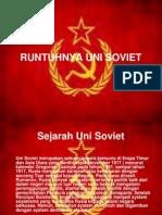 Runtuhnya Uni Soviet