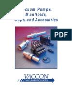 Vaccon Pump Catalog