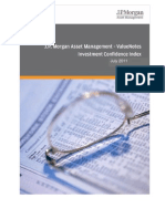 JPMVN Investment Confidence Index July 2011