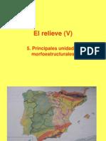 05.Las Grandes Unidades Del Relieve Peninsular Curso2011-12