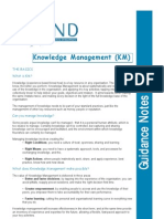 Bond Knowledge Management