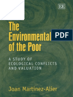 The Environmentalism of the Poor a Study of Ecological Conflicts and Valuation