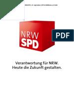 Netzpolitischen Anträge zum Landesparteitag der NRWSPD 2011
