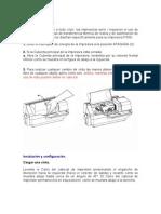 Manual de Zebra p330i