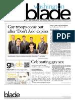 washingtonblade.com - volume 42, issue 38 - september 23, 2011