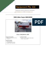 2001 Atlas Copco XAS146dd