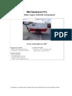 Atlas Copco XAS146 (200654)