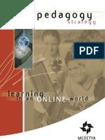 ICT Learning Online World Pedagogy Strategy