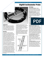 Inclinometer Digitilt Vertical Inclinometer Probe Datasheet