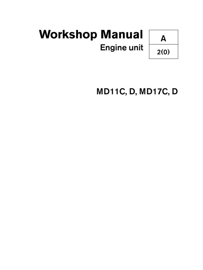 volvo penta md11 17 piston cylinder engine rh es scribd com Volvo Penta Intake Volvo Penta AQ120 Exhaust
