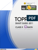 Topper Smart Guide-2010 Class-x Math