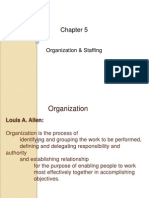 Organization and Staffing Linux