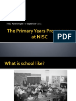 Intro to PYP - Sept 7
