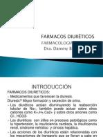 FARMACOS DIURÉTICOS