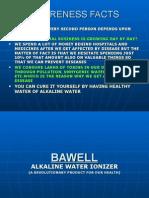 Alkaline Water Presentation