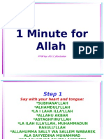 One Minute for Allah