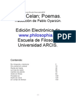 Poemas Paul Celan