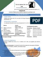 Convocatoria TORNEO Copa Rod RR 1 de Oct Del 2011