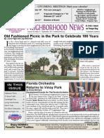 Historic Old Northeast Newsletter Sept 2011