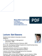 Credit Scoring and Data Mining