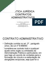 Pratica Juridica de Contratos Administrativos