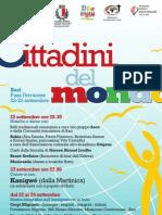"""locandina """"Cittadini del mondo"""""""