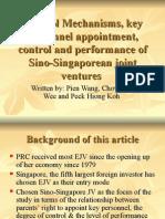 IB2 GrpB L3 Sino-Singaporean Joint Venturesl - Sheena Ang