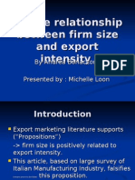 IB2 GrpB L4 Relationship Between Firm Size and Exports - Michelle Loon
