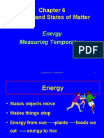 Energy and Temperature