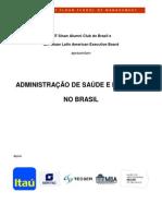 Programação - Administração de Saúde e Inovação no Brasil
