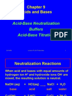 Acids, Bases + Neutralization