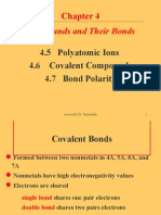 Covalent Compounds and Polyatomic Ions