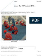 Guantanamo Bay SOP Manual