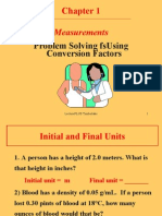 Using Conversion Factors