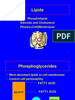Phospholipids and Steroids
