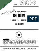 Civil Affairs Handbook Belgium Section 8
