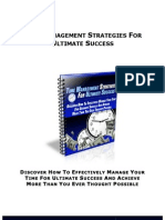 Time Management Strategies eBook