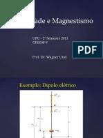 Aula _UFU_Cargas_e_Campos_Elétricos