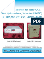 Model 201 Continuous Analyzer with PID or FID