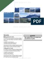 Subaru Legacy Owners Manual 2005