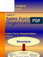Ch06 - Sales Force Organization[1]