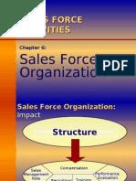 Ch06 - Sales Force Organization[1]