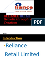 Reliance Retail Final