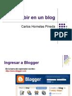 Escribir en Un Blog