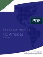 Handover Manual 2010-2011